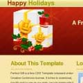 Happy Holidays  - Free CSS Template