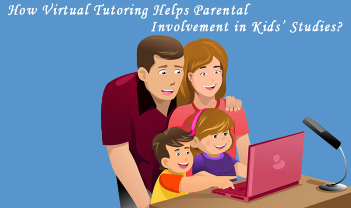 How Virtual Tutoring Helps Parental Involvement