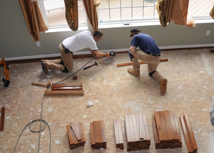 Most Common Types Of Floors Installed In Homes