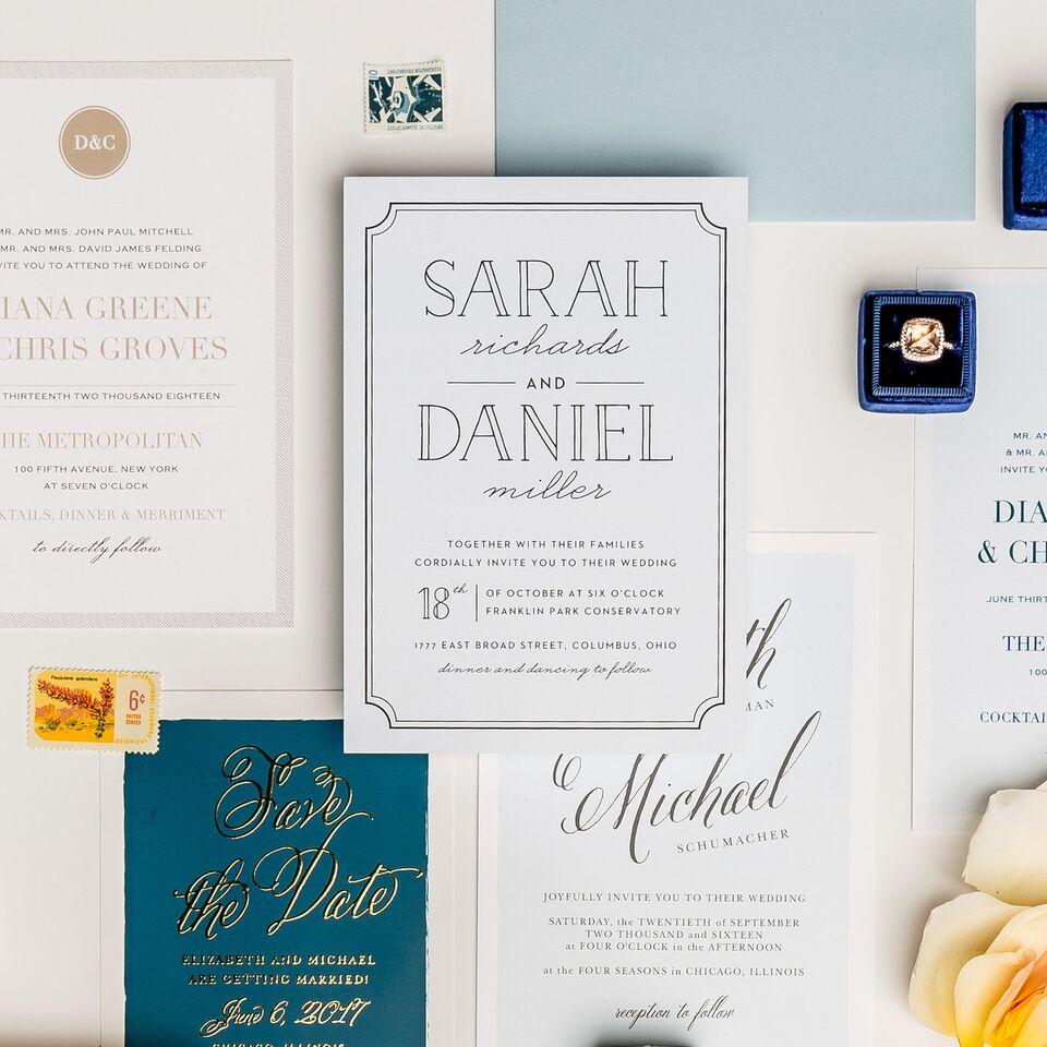 5 Reasons To Buy Wedding Invitations Online - RamblingSoul